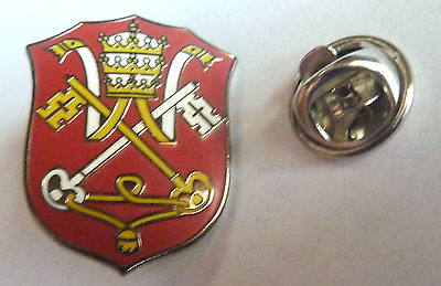 HOLY SEE Vatican Pope Catholic Seal Hat Jacket LAPEL PIN Tie Tack
