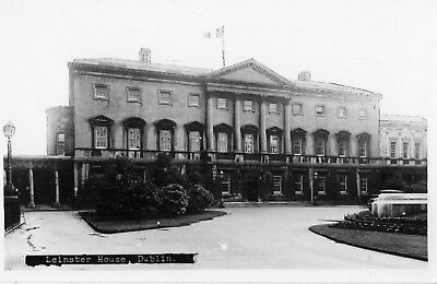 LEINSTER HOUSE DUBLIN IRELAND RP IRISH POSTCARD SIGNAL SERIES
