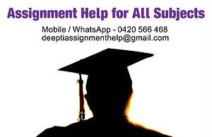 Assignment and Essay Services for All Subjects Adelaide CBD Adelaide City Preview