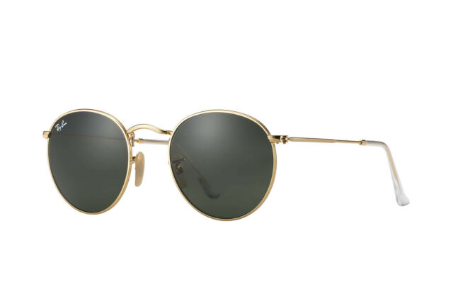where can i buy ray ban lenses  Ray Ban RB3447 Round Metal Sunglasses 50mm