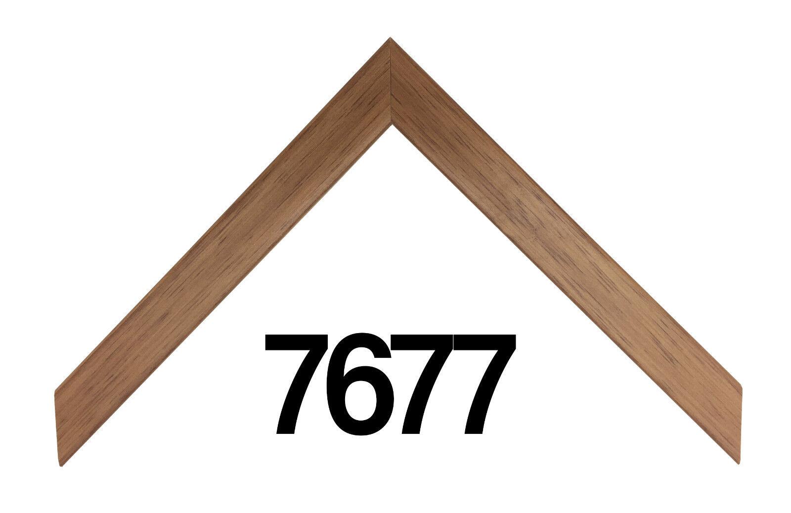 """Custom Picture Frame   3/4"""" Sleek Light Wood   Great for Pho"""