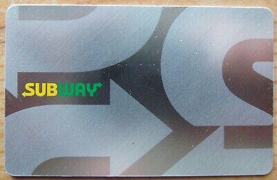 $25 Subway Gift Card