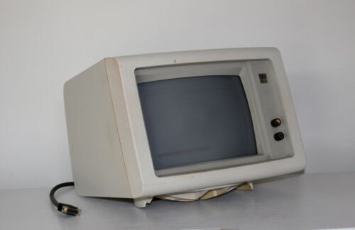 IBM DisplayWriter Monitor 620X 6580 2683381 Untested Looks good No loose parts?