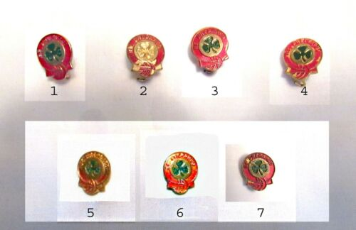 USED 1941 FIRST CLASS Pin Highest Girl Scout Award in 1963, PICK ONE CHRISTMAS