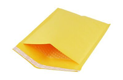 Kraft Mailer Envelopes 50 Ct. 9 X 12 Bubble Padded Self-sealing Stick Closure