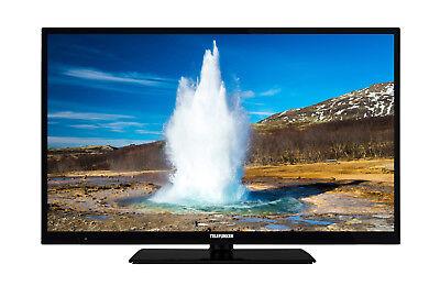 Telefunken D40F294R4CW 102 cm 40 Zoll Fernseher Full HD, Smart TV, Triple
