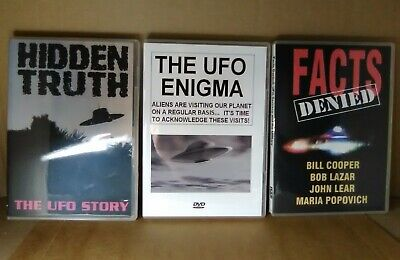 Used, UFO Conspiracy DVDs UFO's Aliens Conspiracies Theory Footage Videos Lot Set UFO for sale  Stephenville