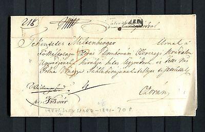 Österreich Vorphila Stempel Ra1 SZEGSZARD auf Brief 1841   (#214)