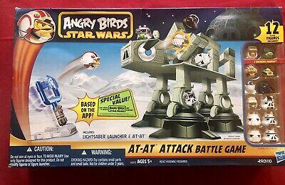Hasbro Angry Bitds Star Wars «AT-AT Attack Battle Game» Neuf