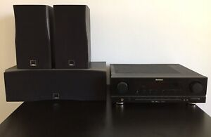 Sherwood Amplifier and Dali Speakers