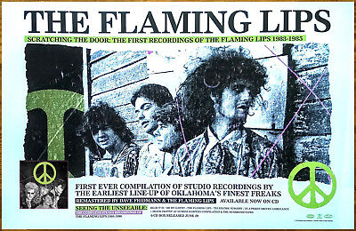 THE FLAMING LIPS Scratching The Door 2018 New RARE Poster +FREE Indie Poster!