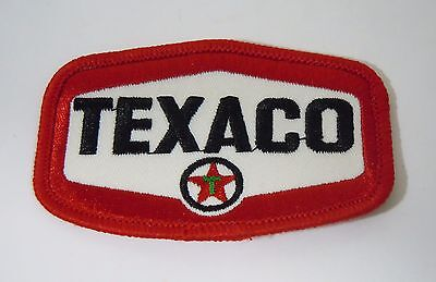 TEXACO Fuels Embroidered Iron On Uniform-Jacket Patch 3""
