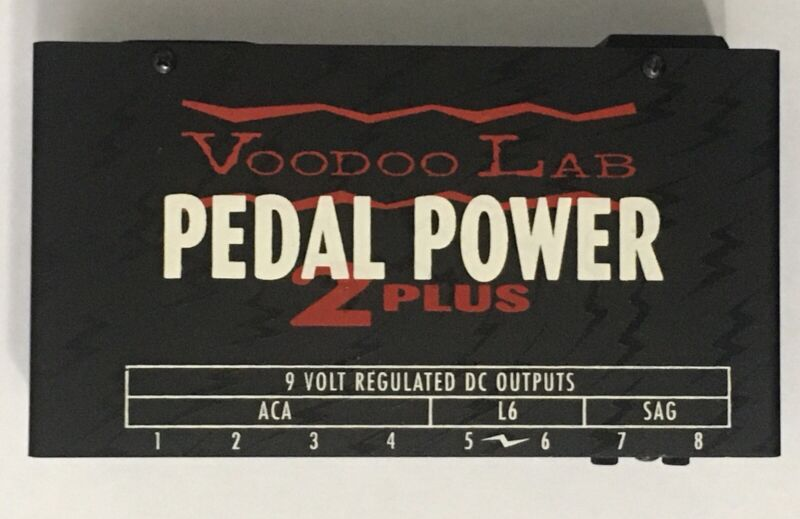 Voodoo Lab Pedal Power 2 Plus Guitar Effect Pedal Power Supply
