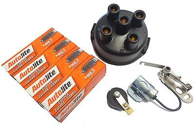 Tune Up Kit Massey Ferguson To20 To30 To35 Delco Clip Points Condenser Rotor Cap