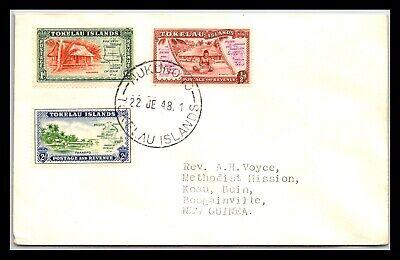 GP GOLDPATH: TOKELAU ISLANDS COVER 1948 _CV677_P15
