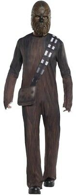 Star Wars Chewbacca Costume Mens Medium Large Adult Cosplay Bandolier Mask New - Costume Bandolier