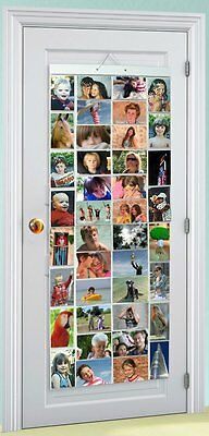 Picture Pockets Mega Hanging Photo Gallery 80 photos in 40 pockets Frame