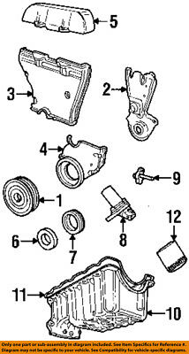 Ford Contour Parts (FORD OEM Engine Parts-Outer Timing Cvr)