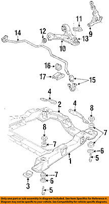 GM OEM Front Suspension-Lower Control Arm Support Plate Left 14073087 Front Lower Suspension Plate