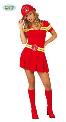 Sexy Feuerwehr Frau - Kostüm für Damen Karneval Fasching Feuer - Sexy Feuerwehr Frau Kostüm