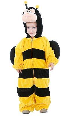 Baby Mädchen Jungen Biene Mini Biest Tier Halloween Kostüm Kleid - Baby Mädchen Biene Kostüm