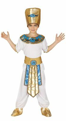 Boys Kids Pharaoh Egyptian King Fancy Dress Costume Historical Book Day - Pharaoh Kids