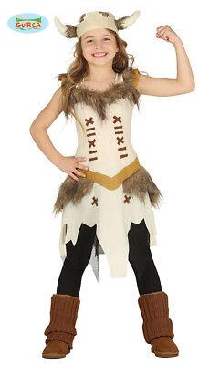 GUIRCA Costume vestito vichinga guerriera carnevale bambina mod. - Vichinga Kostüm