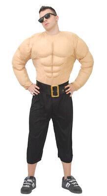 Muskelmann - Kostüm für Männer Karneval Fasching Muskeln Prollo Macho Gr. (Macho Mann Kostüm)