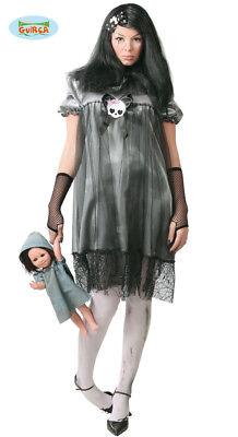 ADULT FANCY DRESS COSTUME HALLOWEEN ZOMBIE WOMAN DEAD GHOST (Halloween Costumes For Woman)