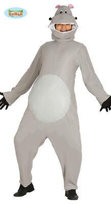 Nilpferd Kostüm Nilpferdkostüm Hippo Tierkostüm one (Hippo Kostüm)