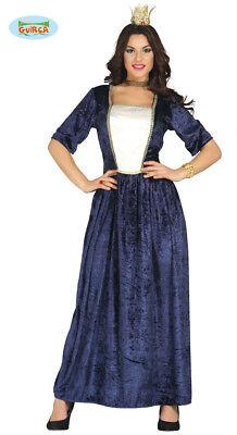GUIRCA Costume vestito dama regina  medievale carnevale donna mod. 88104