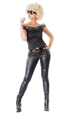 Adult Bad Sandy Final Scene Grease Style Fancy Dress Costume Outfit S/M/L