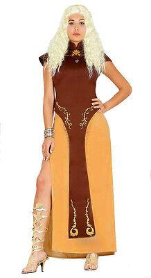 Damen Spiel Thron Kostüm Mittelalterliche Königin Viking Outfit - Mittelalterliche Outfit