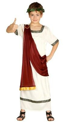 Jungen Römischer Kaiser König Kinder Julius Cäsar toga-kostüm