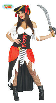 GUIRCA Costume pirata piratessa corsara bucaniera carnevale donna mod. 8089_