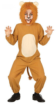 Jungen Kinder Löwe Kostüm König der Löwen Outfit Disney Play Alter 3-4-6-9 Neu