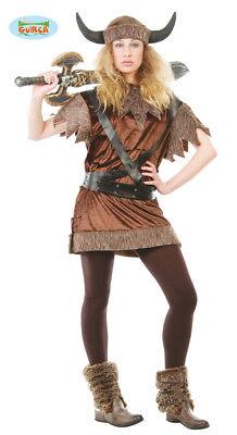 GUIRCA Costume vestito vichinga tg.XL carnevale donna adulto mod. - Vichinga Kostüm