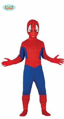 GUIRCA Costume vestito Spiderman uomo ragno Tg. 7-9 carnevale bambino 110 81642