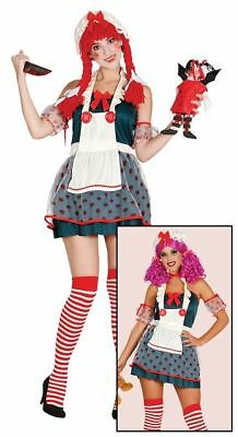 Naughty Ladies Halloween Broken Rag Doll Fancy Dress Costume Zombie Ghost Outfit - Ragdoll Halloween Outfits