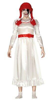 Damen Scary Horror Film Puppe Halloween Kostüm Outfit UK - Scary Kostüm Puppen