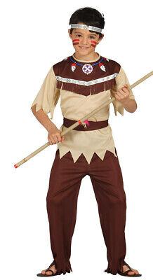 Indianer Kostüm für Kinder Karneval Fasching Wilder Westen Krieger Gr. 98 - 146
