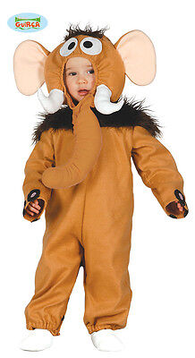 Karnevalkleid Elefant Baby Tiere Kleid Mammut Karneval Junge - Baby Mädchen Elefanten Kostüm