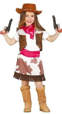 Mädchen Rodeo Cutie Cowgirl Wilder Westen Western Kostüm Outfit 3-6 (Mädchen Cowgirl Cutie Kostüm)