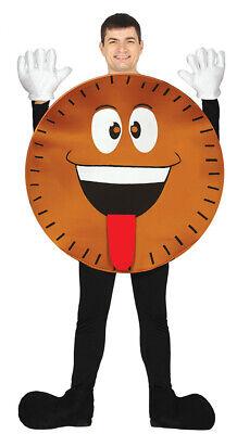 Keks Kostüm für Erwachsene Cookie Kekskostüm Damen Herren - Lustige Kostüme Damen