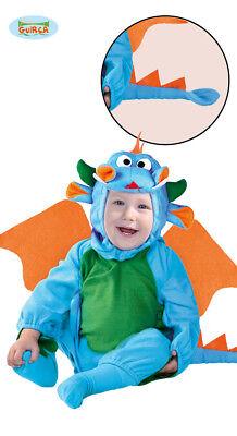 Drache Kleinkind Kostüm (Drache Kostüm Drachenkostüm Kleinkinder 6-12 Monate Gr 72/80)