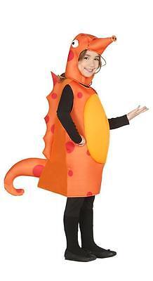 Mädchen Pferde-kostüm (Jungen Mädchen Kinder Seepferdchen Sealife See Pferd)