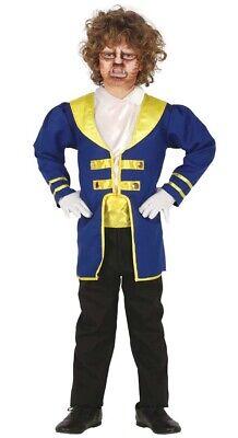 Prinz Kostüm für Jungen - Größe 98-146 - Kinder Fasching Karneval