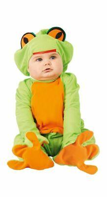 Karneval Kinder Tier Kostüm Unisex kleiner Frosch Baby Kleinkinder Märchen
