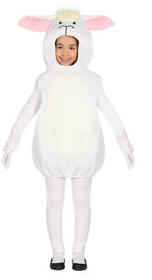 Kids Sheep Costume Boys Girls Farm Animal Fancy Dress Outfit AGE 3-4-6 - Farm Girl Fancy Dress Kostüm