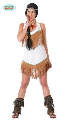 GUIRCA Costume vestito indiana Pocahontas carnevale donna mod. 8467_